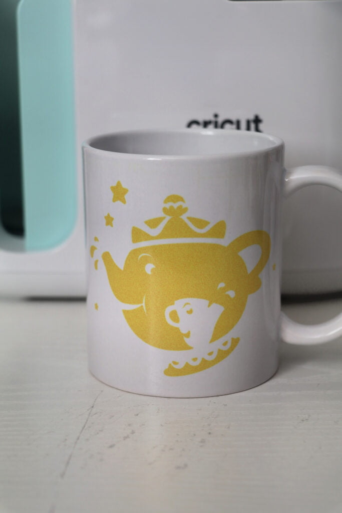 Mrs Potts Cricut Mug