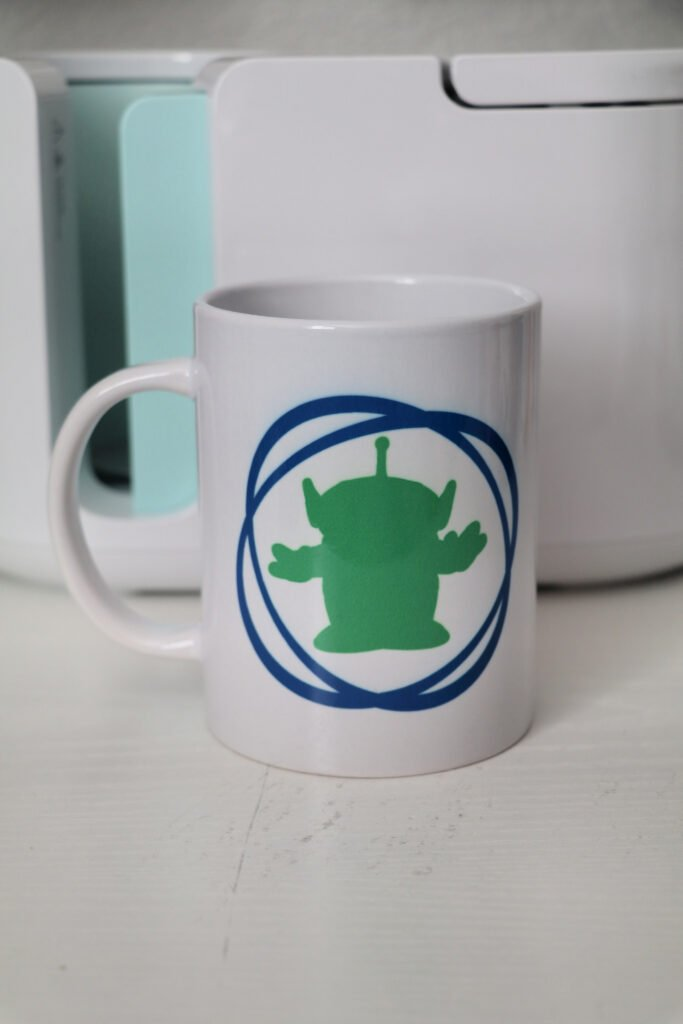 Toy Story Alien Cricut Mug