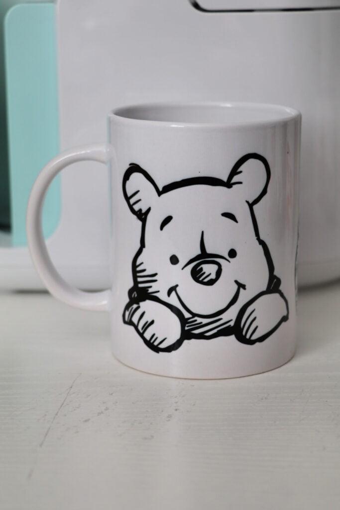Winnie the Pooh cricut mug