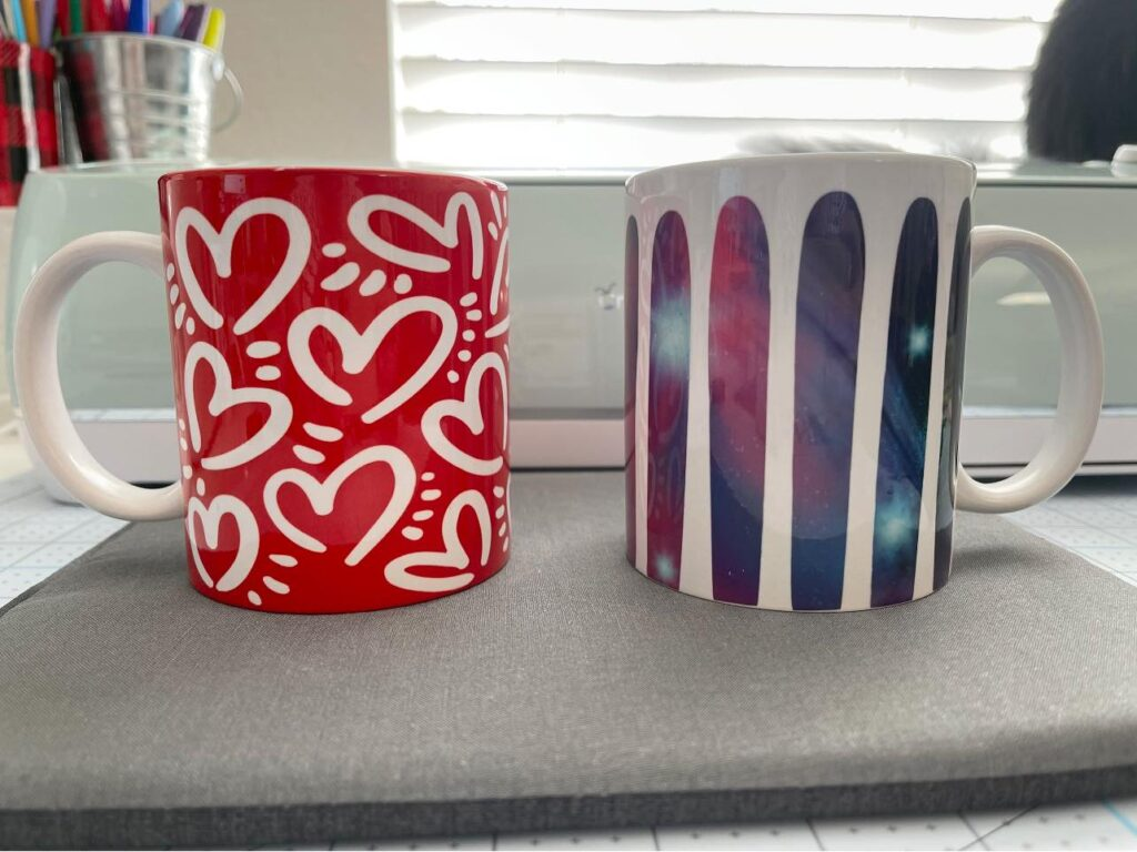 cricut mug vs sublimation mug