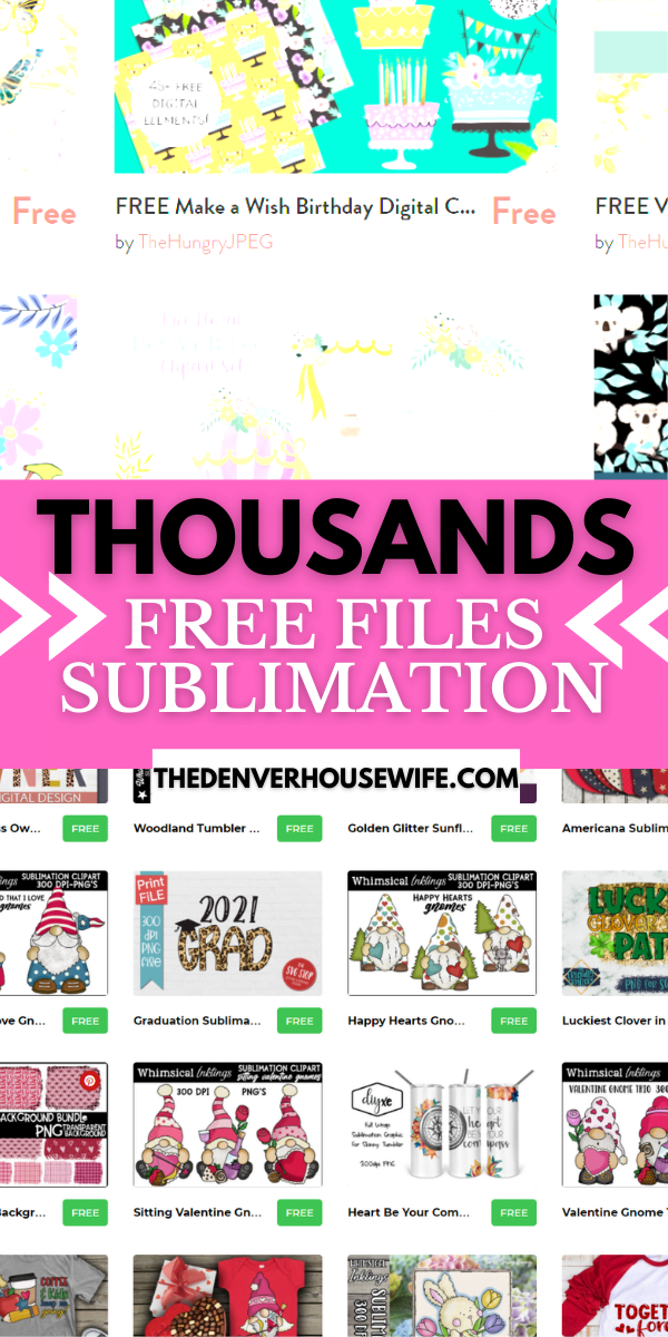 Free Sublimation Images
