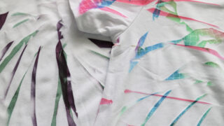 cricut infusible ink tie dye t-shirt