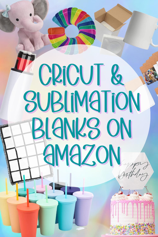 Cricut & Sublimation Blanks on Amazon