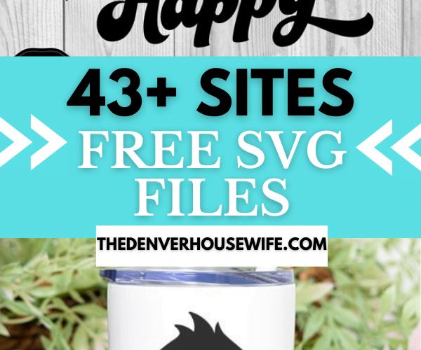 free SVG files for Cricut