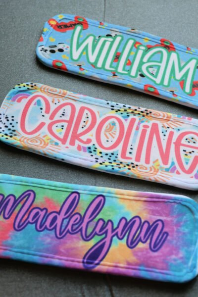 personalized sublimation popsicle holder
