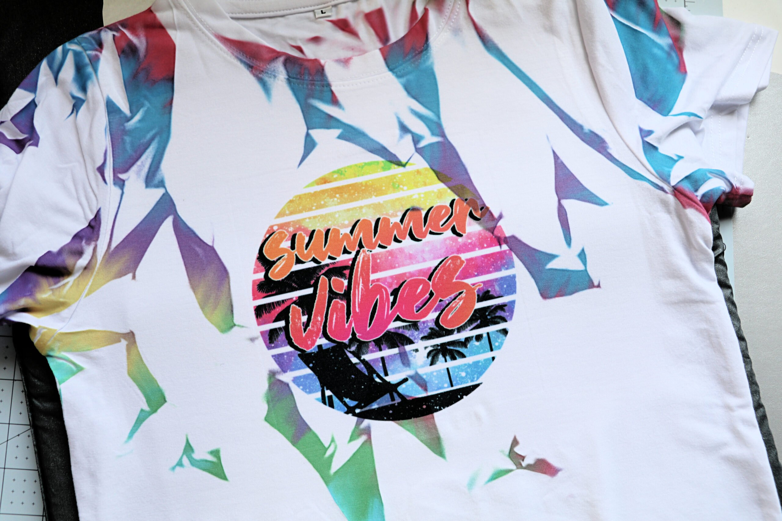 Sublimation Tie-Dye Shirt Tutorial