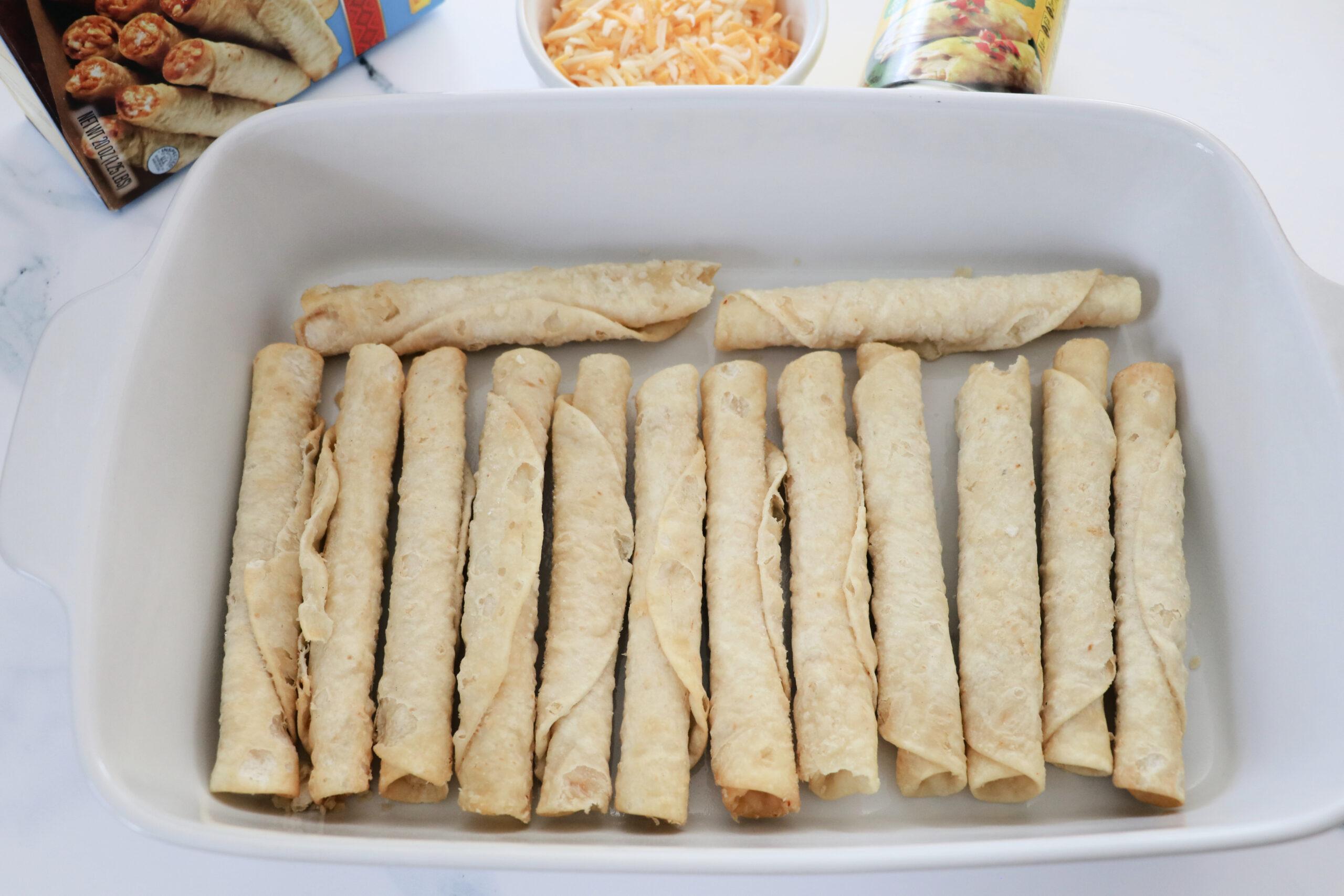 tiktok taquito enchiladas