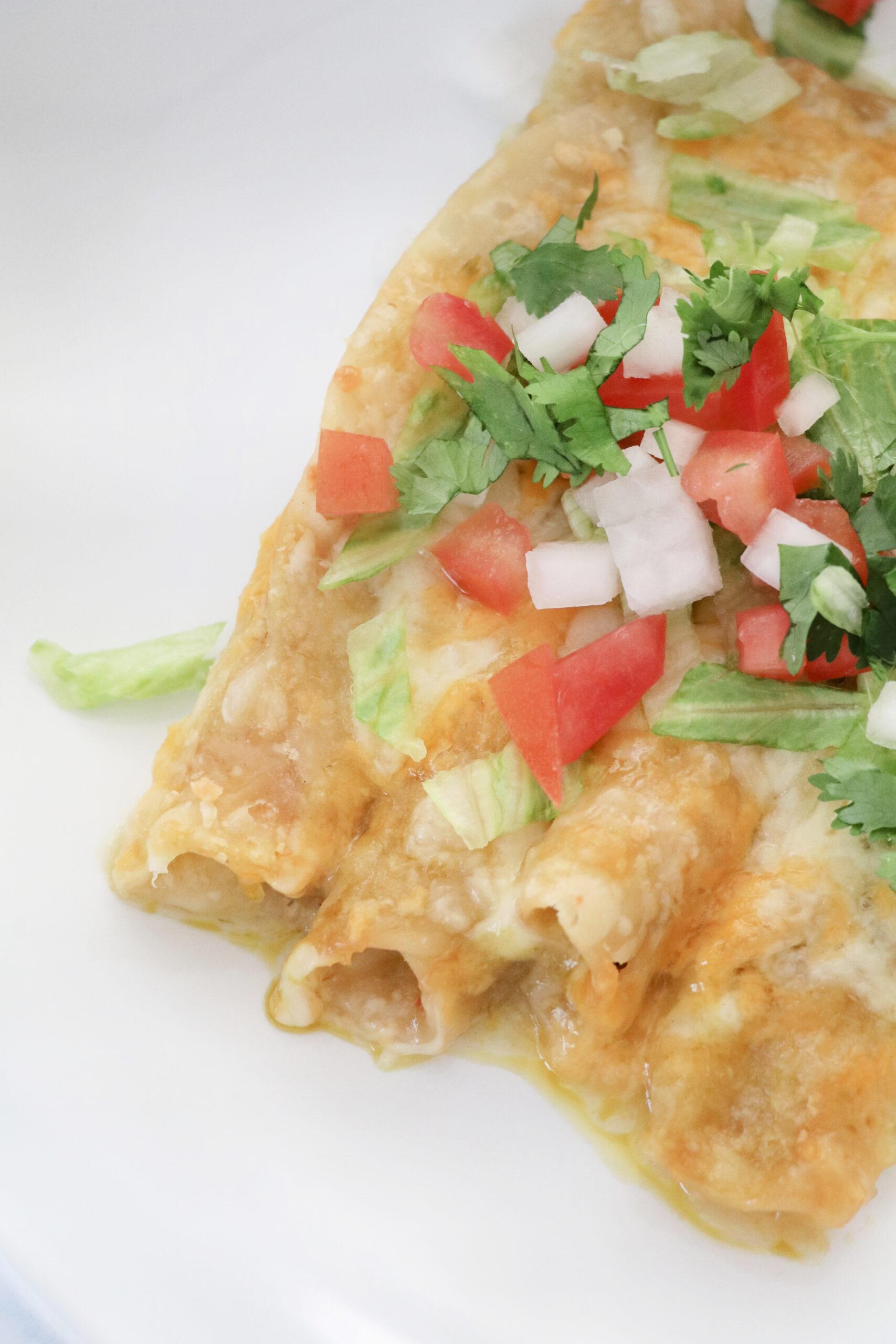 lazy enchiladas tiktok