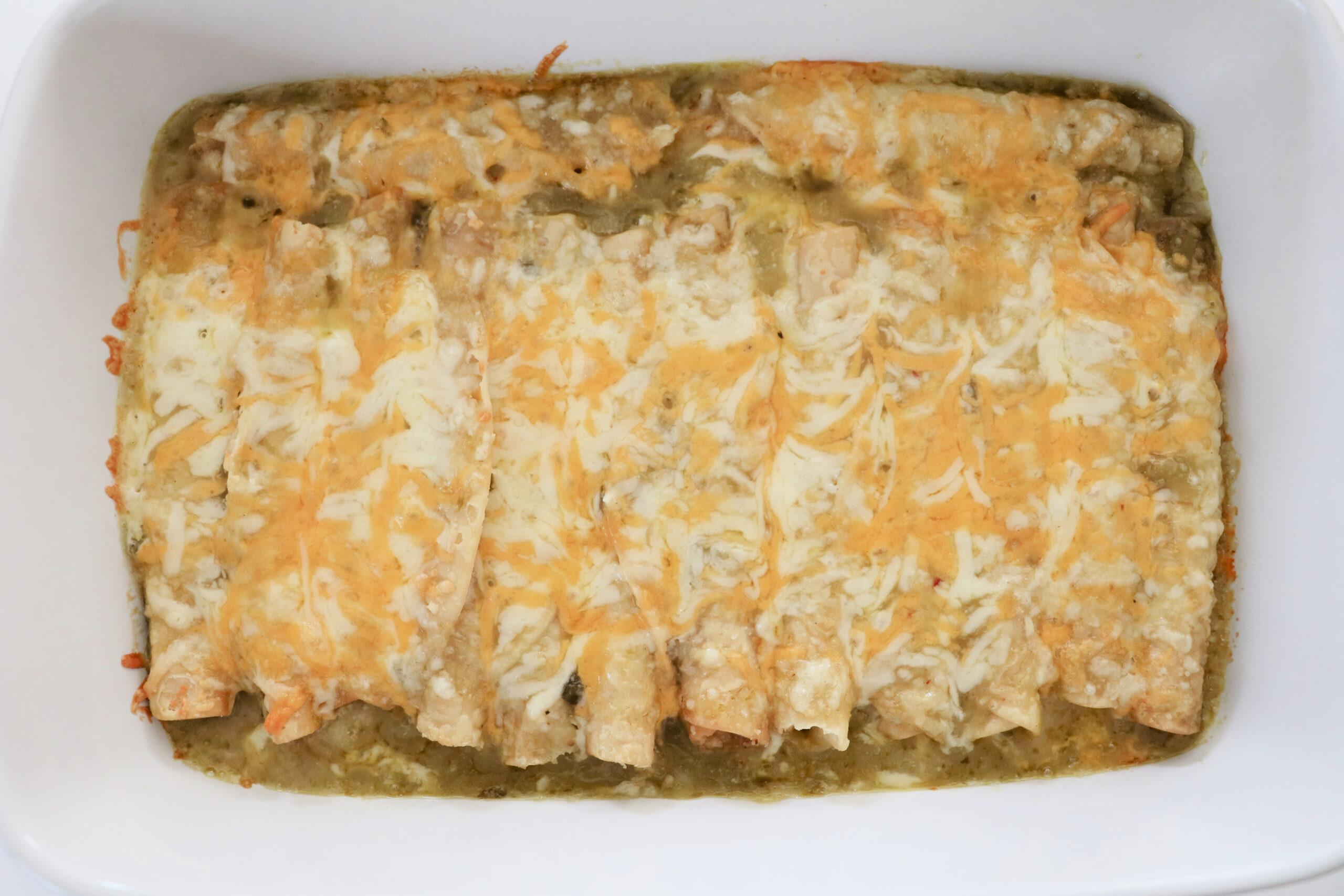 lazy taquito enchiladas