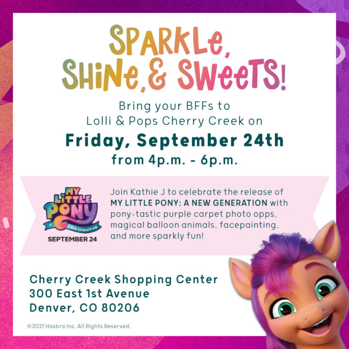 Free My Little Pony Event at Cherry Creek Mall 9/24